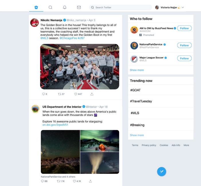 The new Twitter for Windows Progressive Web App