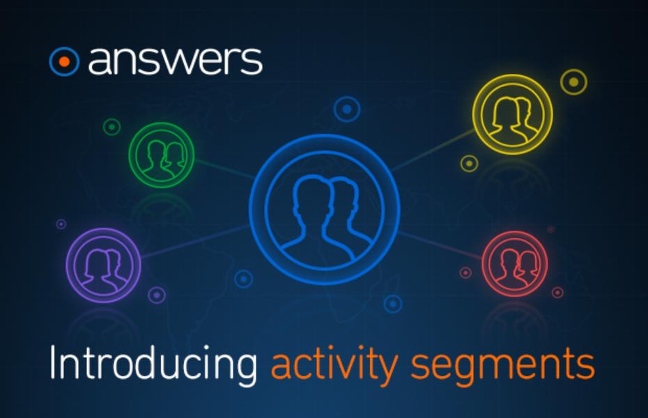アプリの顧客維持のヒントがわかるanswersの新しい機能 activity