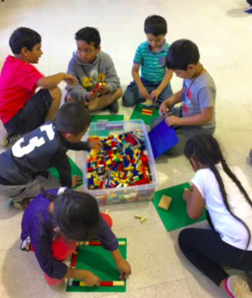 A summer of learning STEM through play