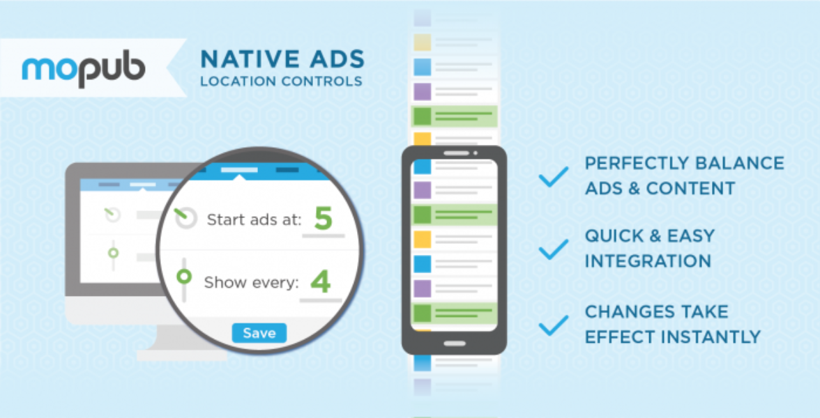 Easier tools to create and manage native ads via MoPub