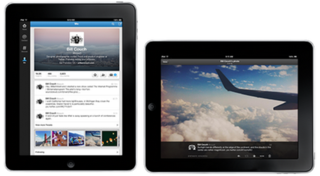 Expand your experience: New Twitter for iPad