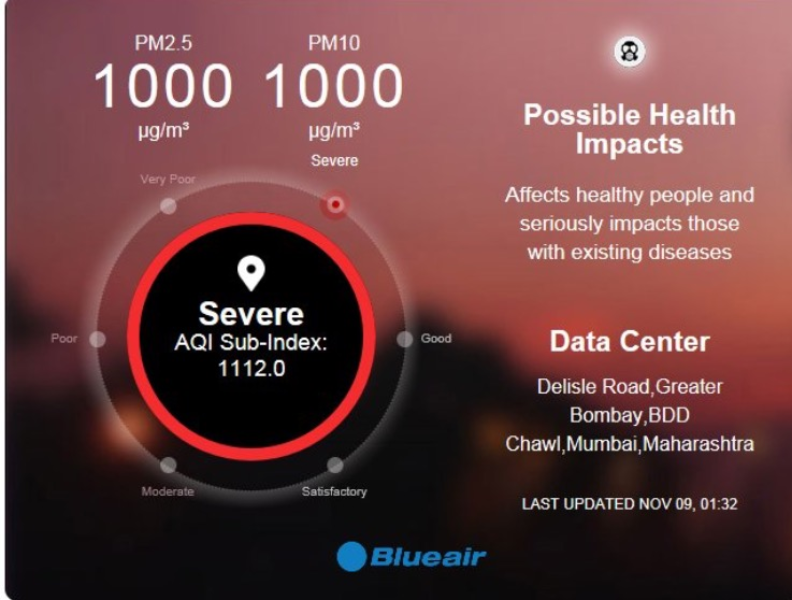 Get air quality levels with a single Tweet