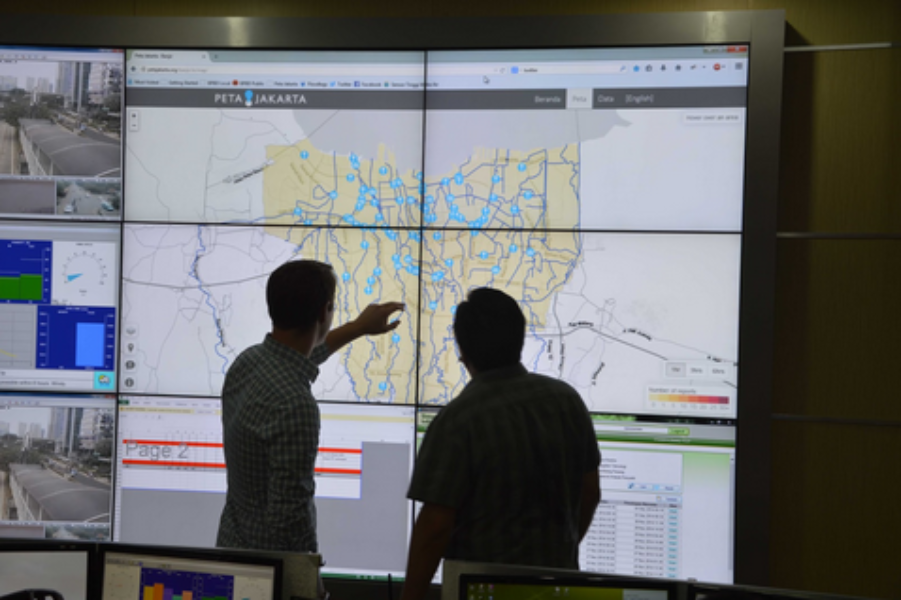 Helping Jakarta track flooding in real time to save more lives