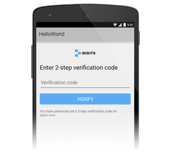 Introducing friend-finding and two-step verification to Digits