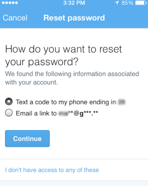 Keeping your Twitter account safe