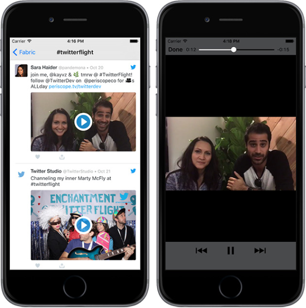 Launching native video support for Twitter Kit