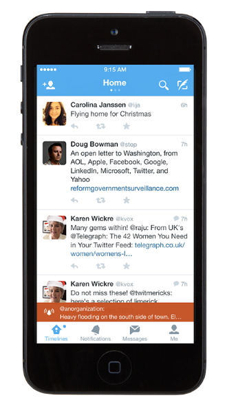 Twitter Alerts: New countries and features