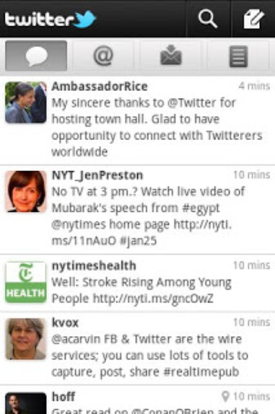 Twitter for Android - new and improved