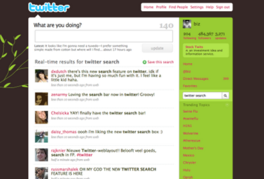 Twitter Search for Everyone!
