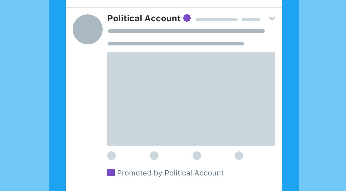 New transparency for ads on twitter an example of what a future political ad may look like stopboris Image collections